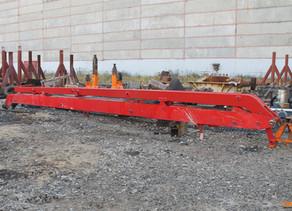 Ремонт пятой секции стрелы бетононасоса