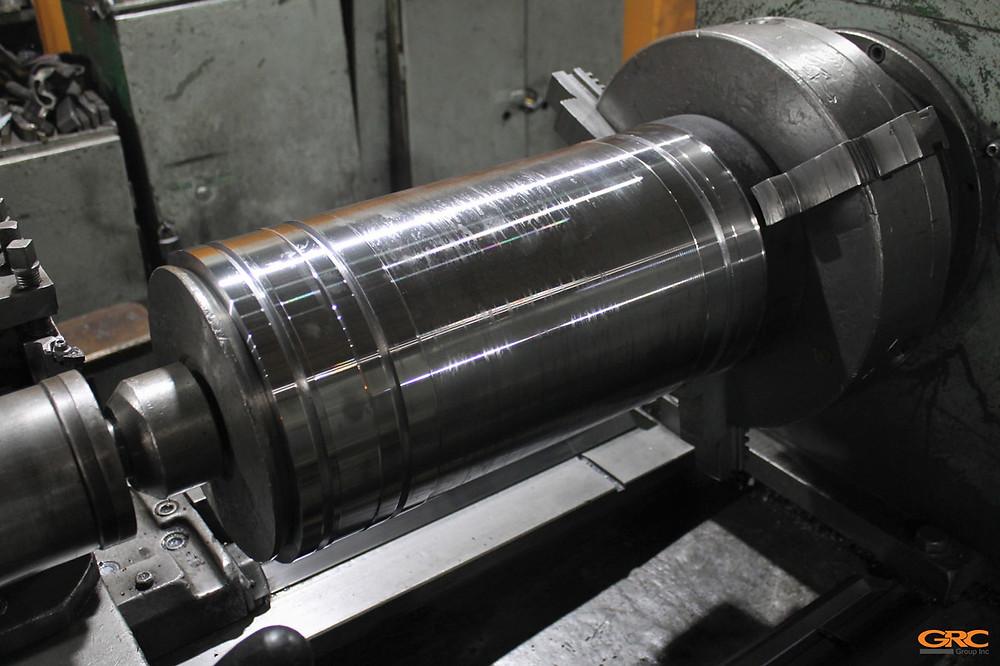 Ремонтная гильза для узла смыкания литьевого агрегата