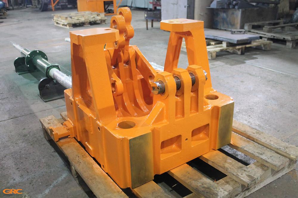 Плита ТПА с восстановленным коленно-рычажным механизмом