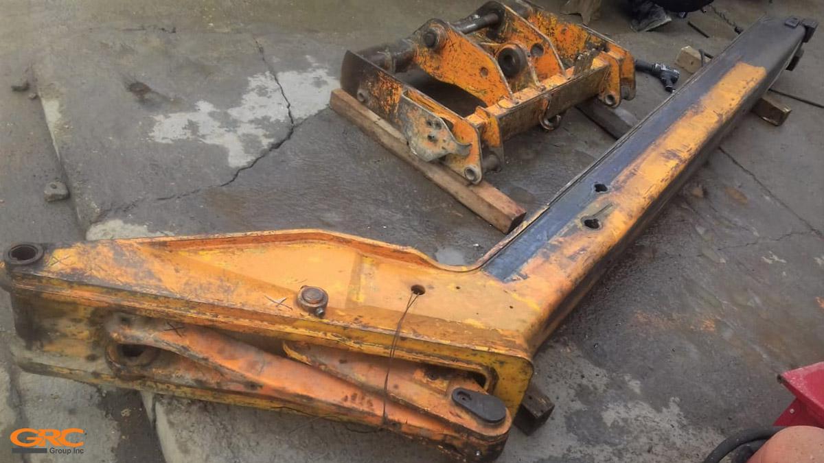 Стрела и каретка (до ремонта)