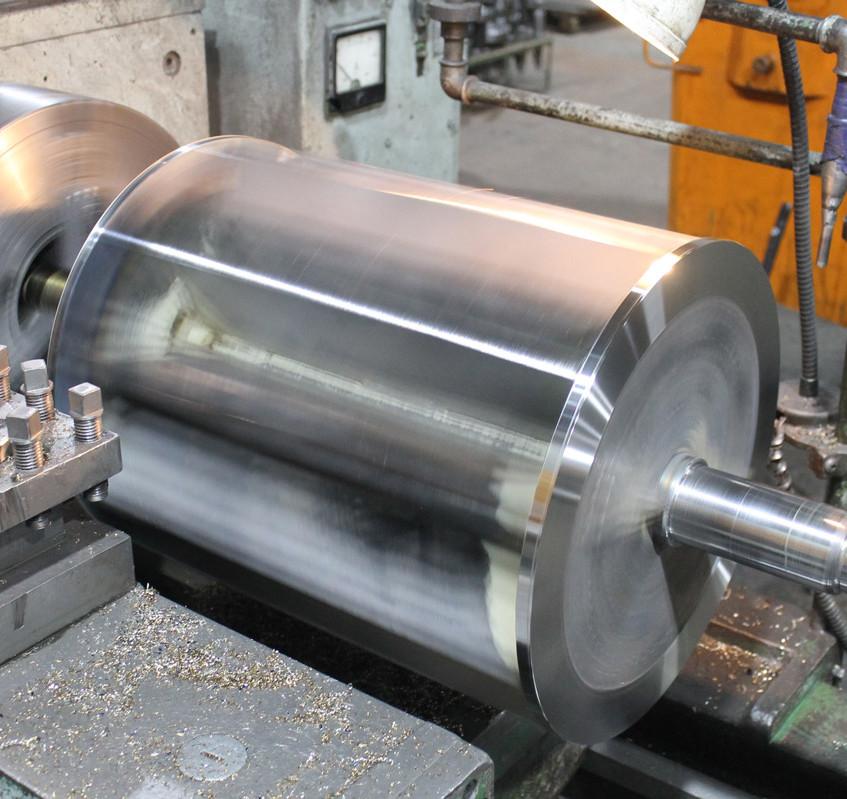 Чистовая проточка лопастей ротора