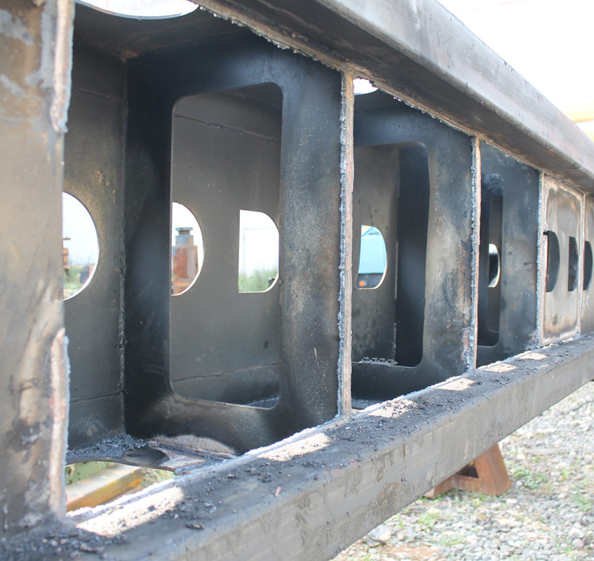 Демонтаж боковых стенок