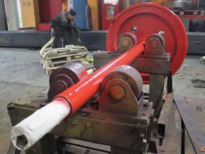 Ремонт вала гильотины для резки металла
