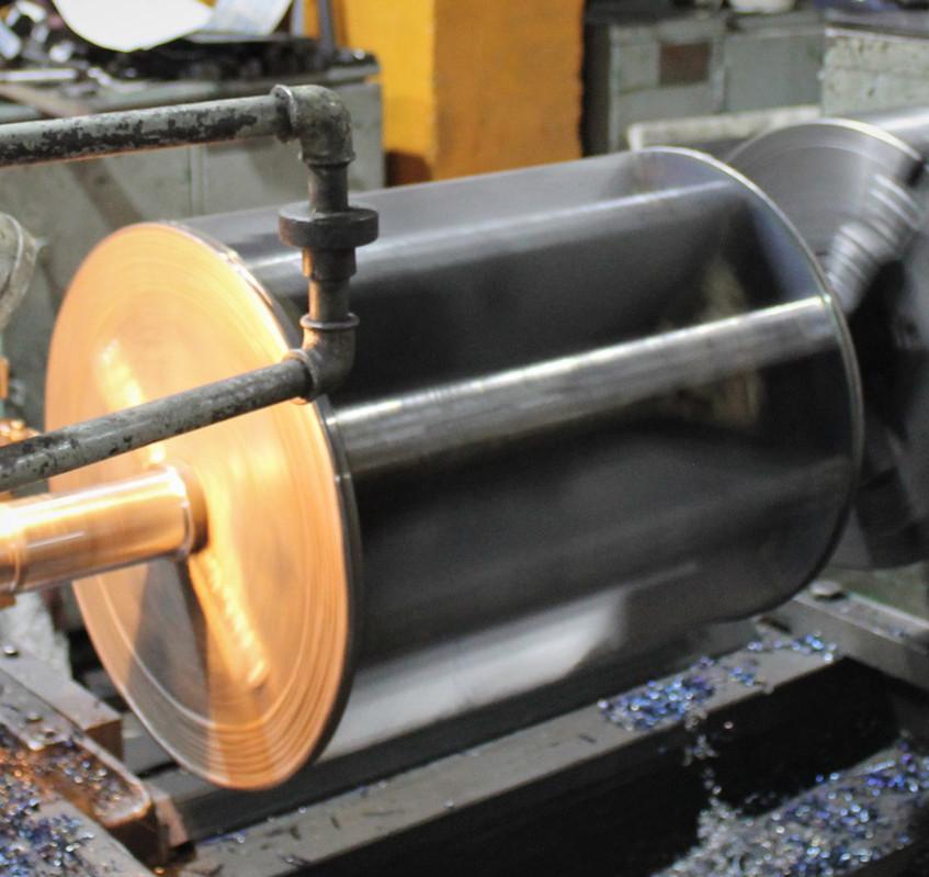 Проточка ротора под наплавку