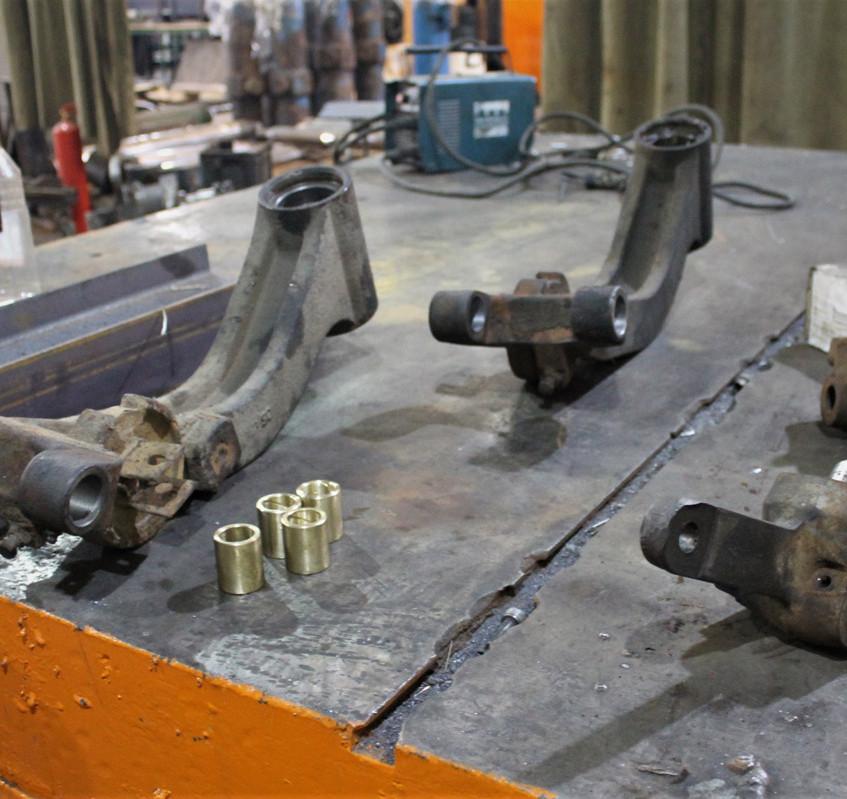 Изготовленные ремонтные втулки
