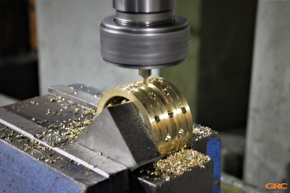Изготовление новой втулки для коленно-рычажного механизма ТПА