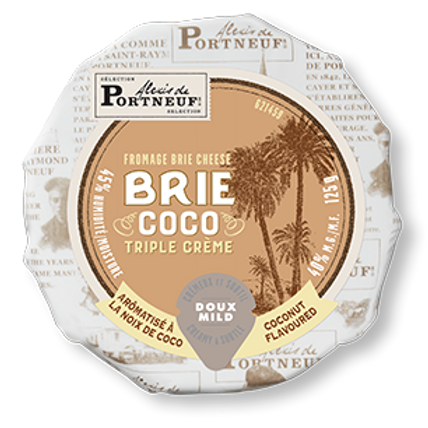 Brie Coconut Triple Creme