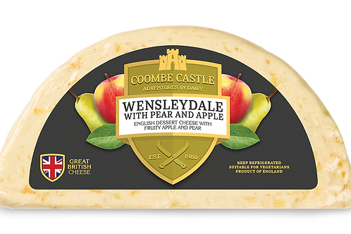 Wensleydale with Pear & Apple