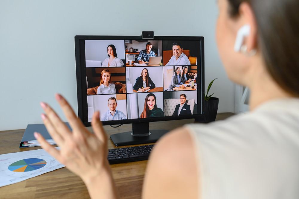 Digitale Teams - neue Formen der Zusammenarbeit mit Andrea Kron von kronkonsult entwickeln