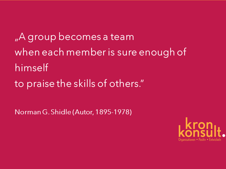 Warum Persönlichkeits- und Teamentwicklung Hand in Hand gehen