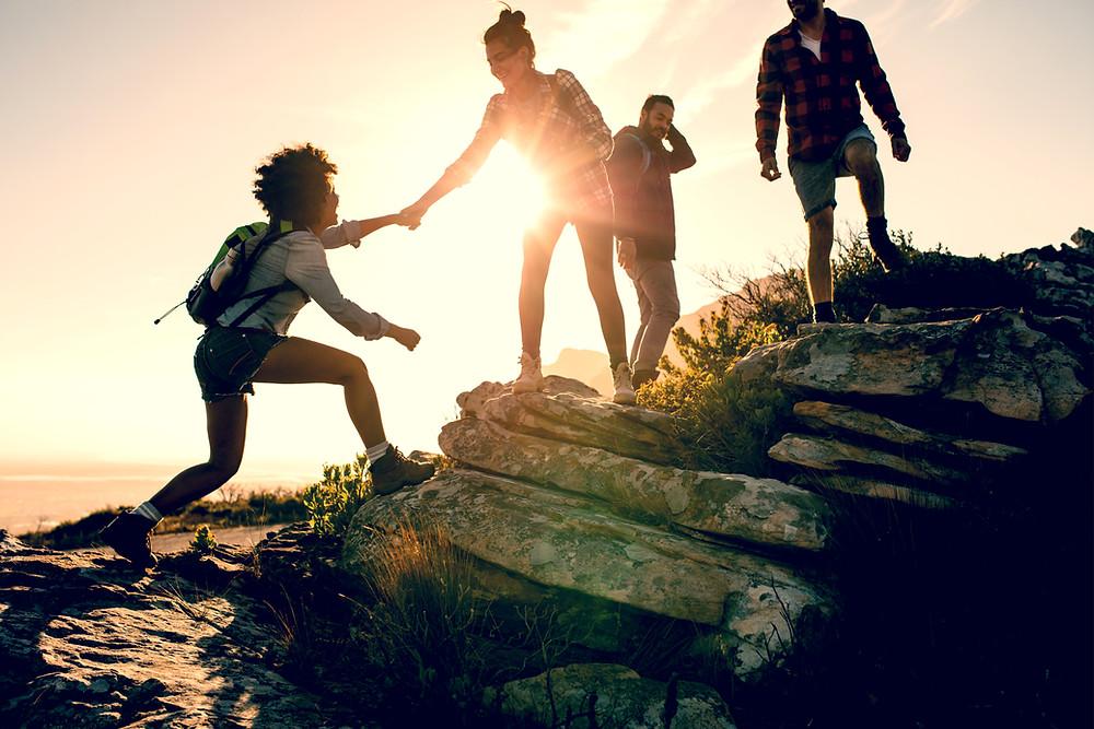 Change bzw. Veränderung ist eine Wanderung: Beratung durch Andrea Kron von kronkonsult