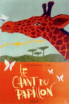 Le chant du papillon couverture du livre
