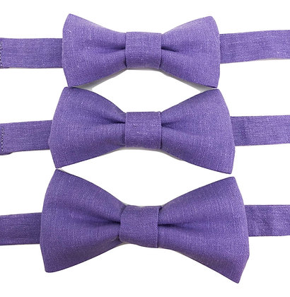 Pre-Tied Light Purple Solid