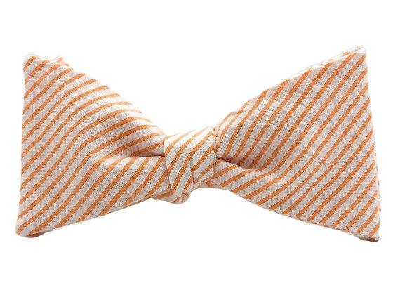 Wholesale Orange Seersucker