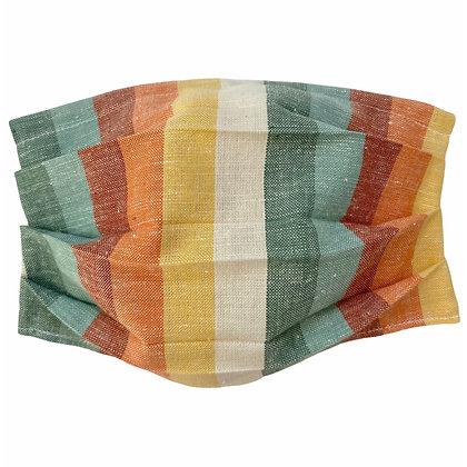 Fall Stripes Mask