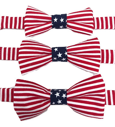 Pre-Tied Stars and Stripes