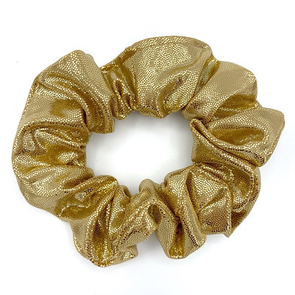 Metallic Gold Scrunchie