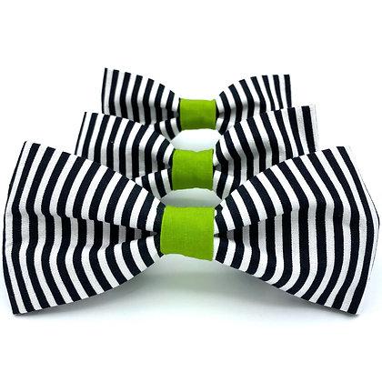 Beetlejuice Dog Bow Tie