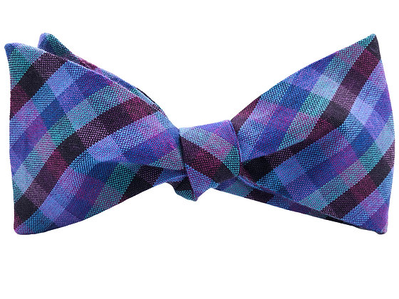 Wholesale Blue and Purple Check