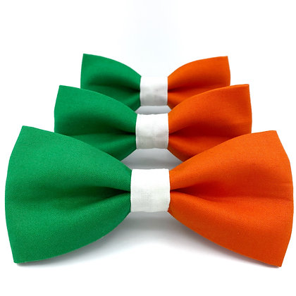 Flag of Ireland Dog Bow Tie