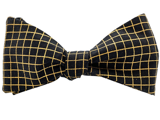 Wholesale Black and Gold Grid