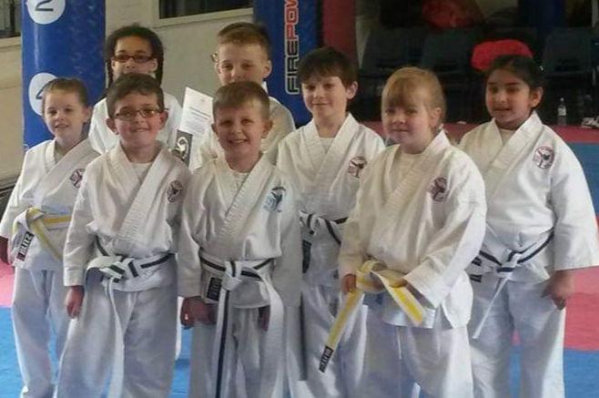 Ninja Tots class at the academy