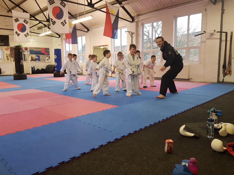 Ninja tot half term afternoon class