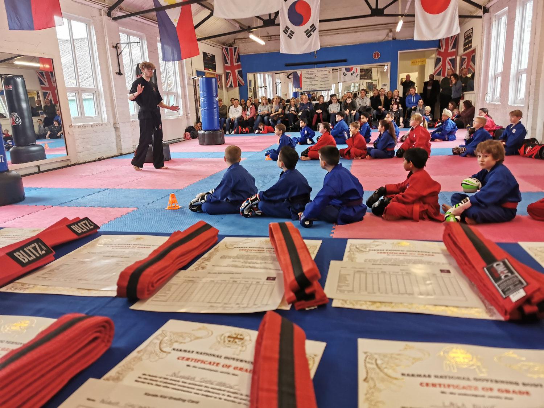 Low grade karate kids half term class