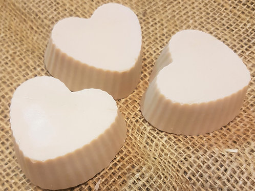 Frangipani Love Heart Shaped Soap