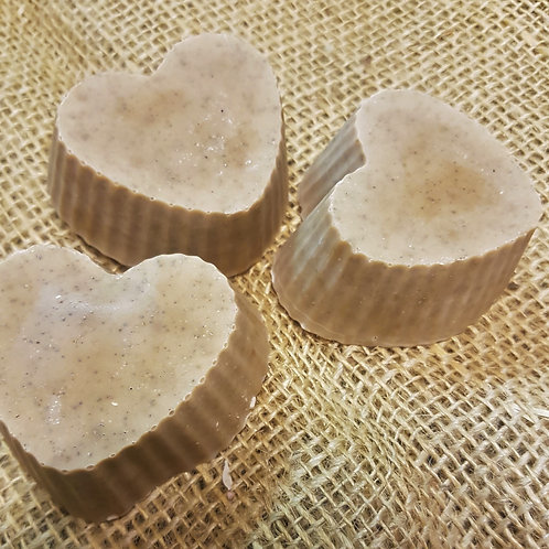 Clary Sage & Jojoba Heart Shaped Soap