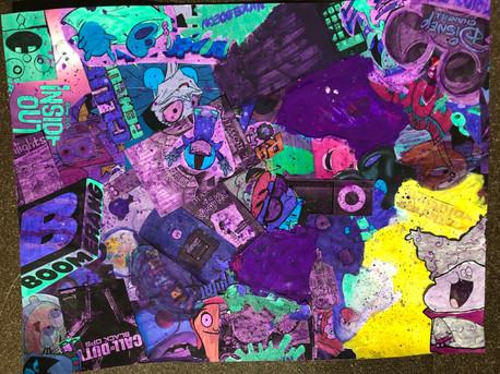 Childhood Media Collage