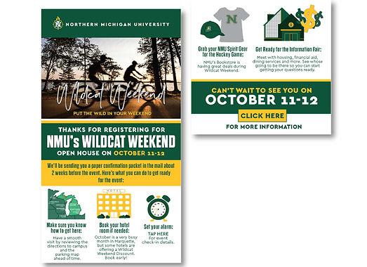 October - Wildcat Weekend