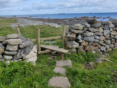 Little Gwendreath Walk the South West Coast Path - Day 8 - Coverack - Roskillys