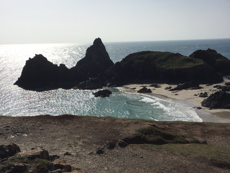 Little Gwendreath Walk the South West Coast Path - Day 4 - Kynance Cove - Lizard Point