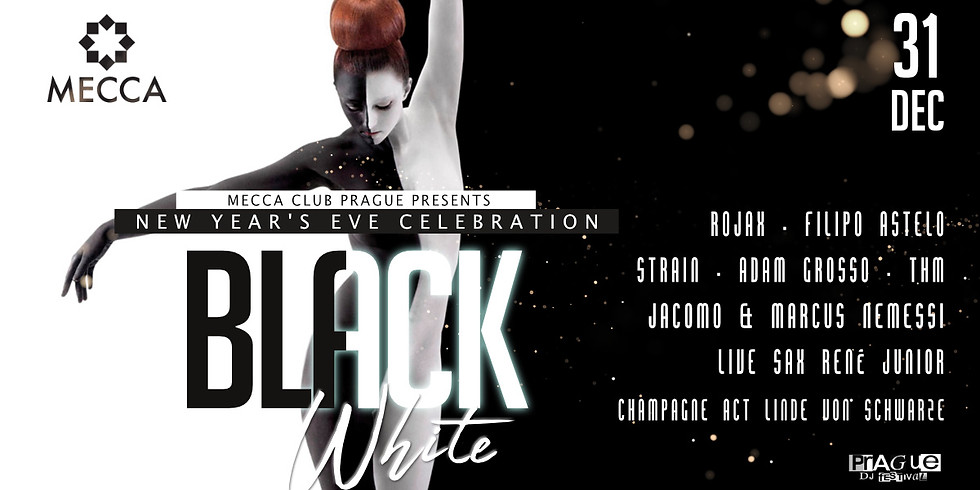 New Year's Eve - Black & White (part of Prague DJ Festival)