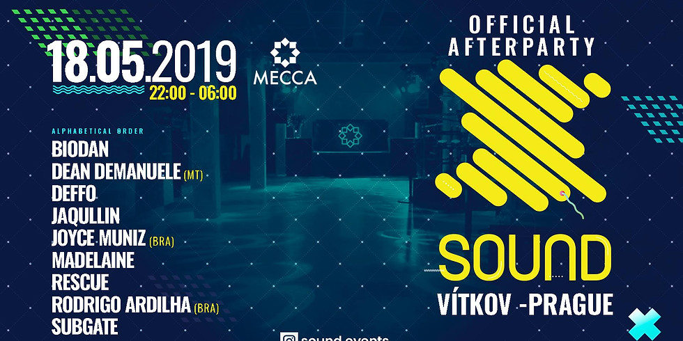 Sound Festival - Official Afterparty