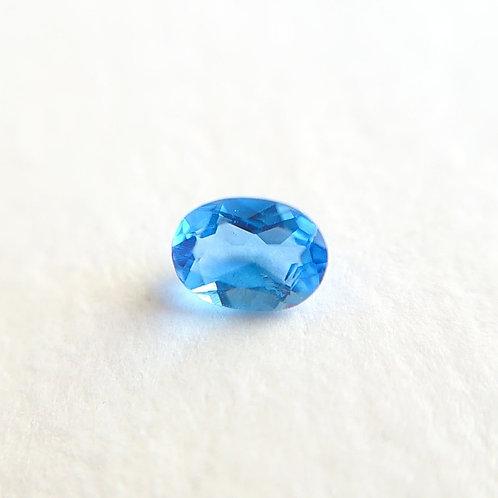 ☆☆聖なるブルー色アウィナイト0.076☆☆オーバルミックスカット [レアストーン] [鑑別カード付き]☆の複製