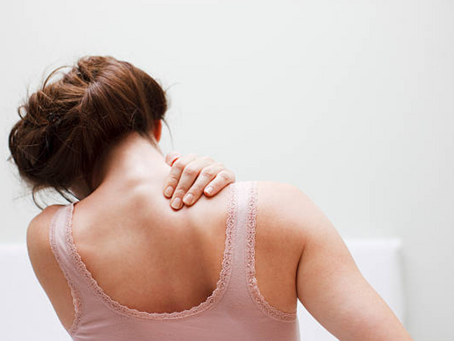 How to relieve neck, shoulder and back pain at home