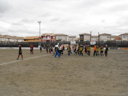 fin partido chauchina 5-1 montefrio