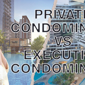 Private Vs Executive Condo? Here are the fundamental Differences that You Must Know.