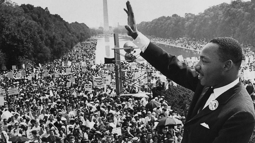 """Martin Luther King Jr.'s """" I have a"""