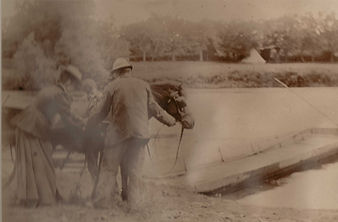 Pony and Cart circa 1900