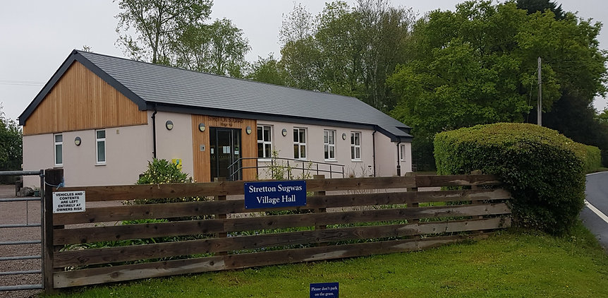 Stretton Sugwas Village hall seen from the road