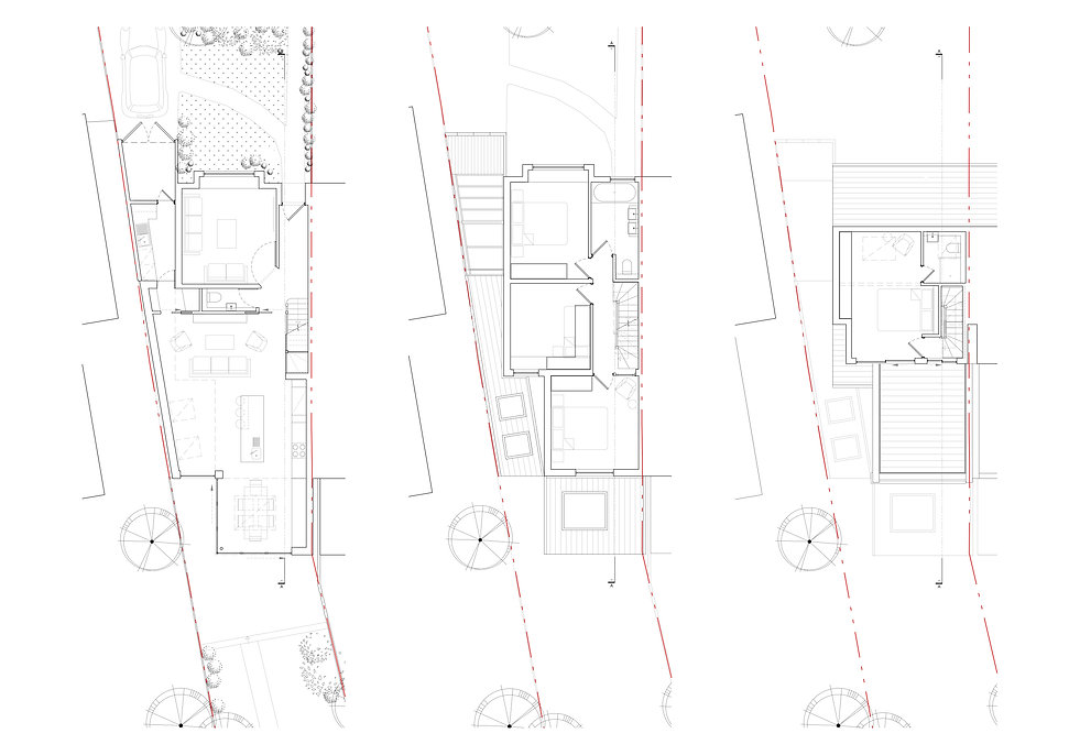 Plans for house extension Wimbledon