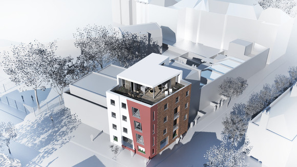 Planning Submitted | Crescent Lane Penthouse, Clapham, London SW4