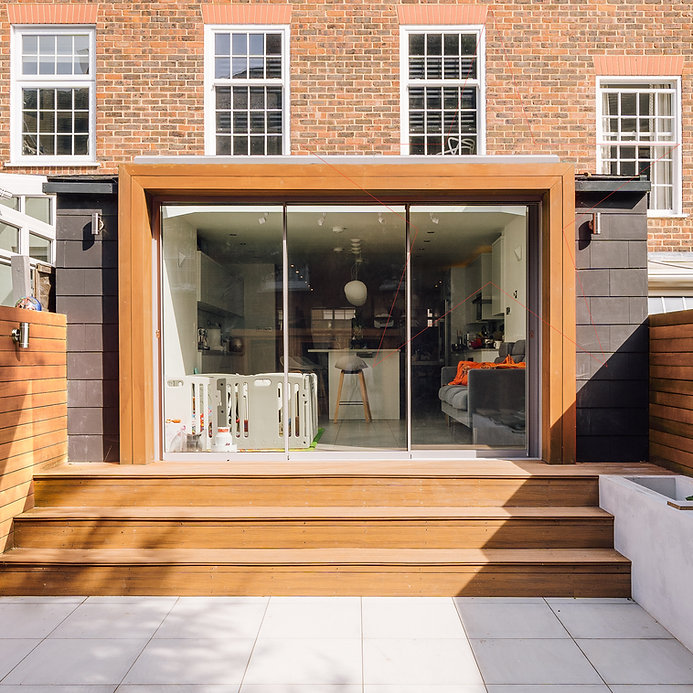 Modern House Extension Wimbledon