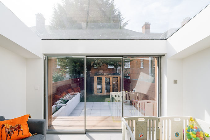 Modern London Extension with Skylight