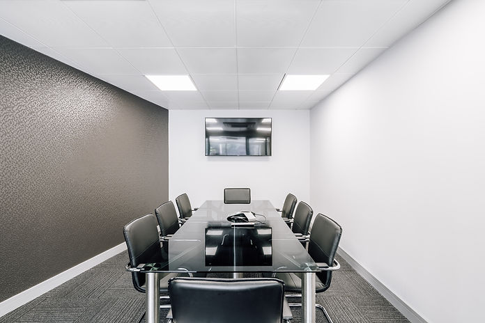 Modern London office meetin room