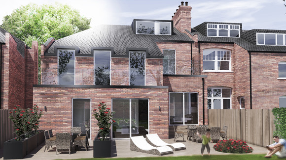 Planning Approved | Princes Avenue, Muswell Hill, London N10