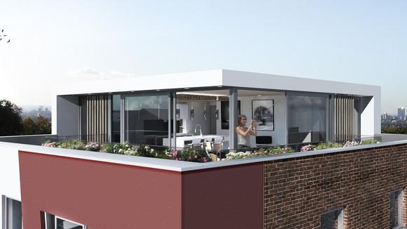 Planning Granted   Crescent Lane Penthouse, Clapham, London SW4